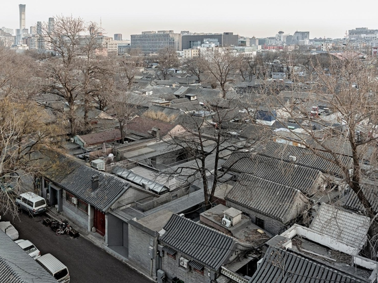 A renovated complex in Beijing's Qianliang Hutong is the latest offering by Chinese architecture practice Archstudio. Photography: Wang Ning