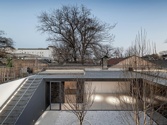 A traditional Chinese hutong compound is reimagined for the 21st century