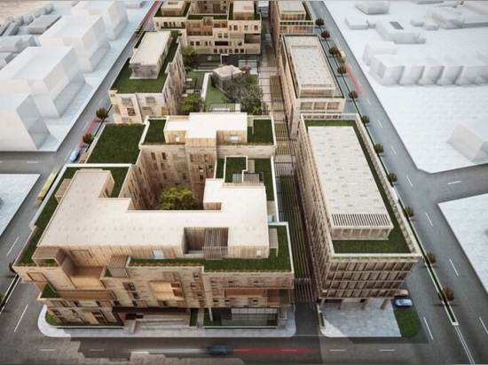 Mixed-use complex aims to minimize heat gain with greenery in Saudi Arabia