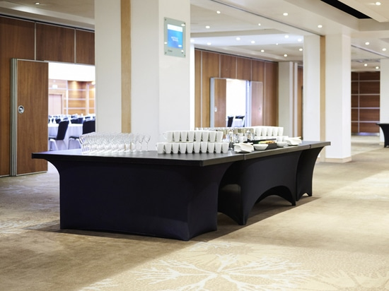 Buffet-Rite table tops at Novotel London West