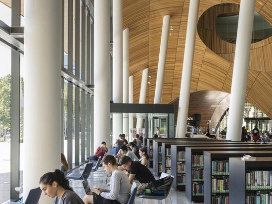 Charles Library at Temple University / Snøhetta