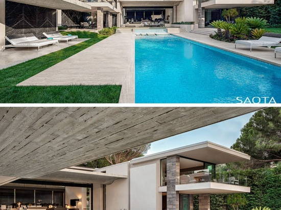 This New House In France Has A Wavy Concrete Ceiling