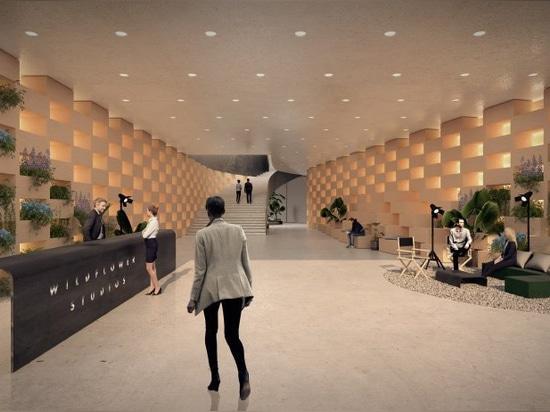 bjarke ingels group is designing a 'vertical village for film' in NYC