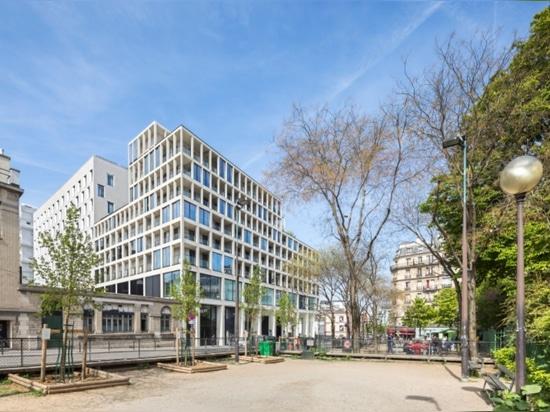 Clichy-Batignolles Eco-District in Paris