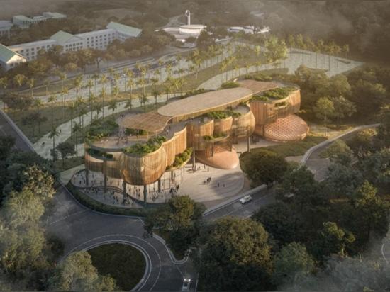 La Salle Academic Complex by CAZA