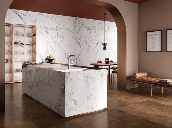 Marmoker: the precious colour effects of marble combined with the performance of porcelain stoneware