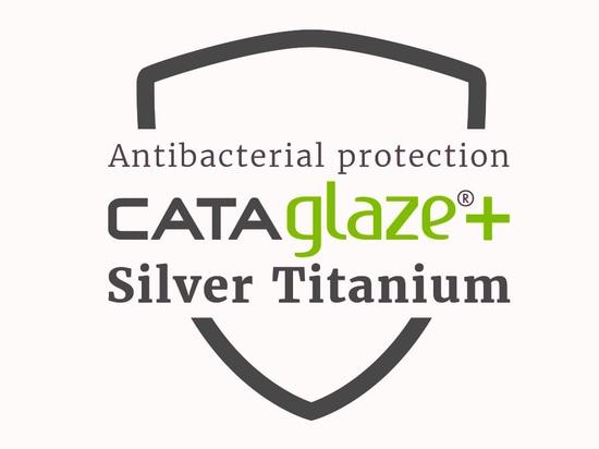 CATAglaze+ Silver Titanium - Antibacterial protection 99.99%
