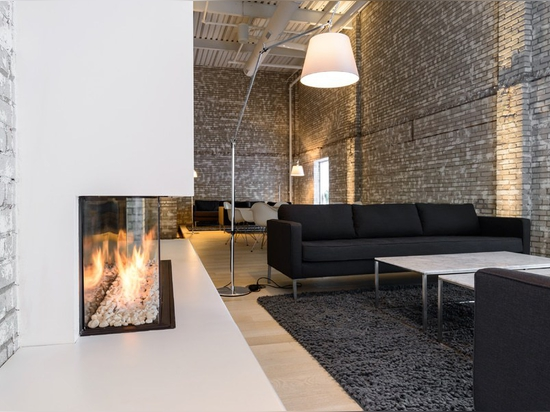 2. Design fireplace as a creativity-booster