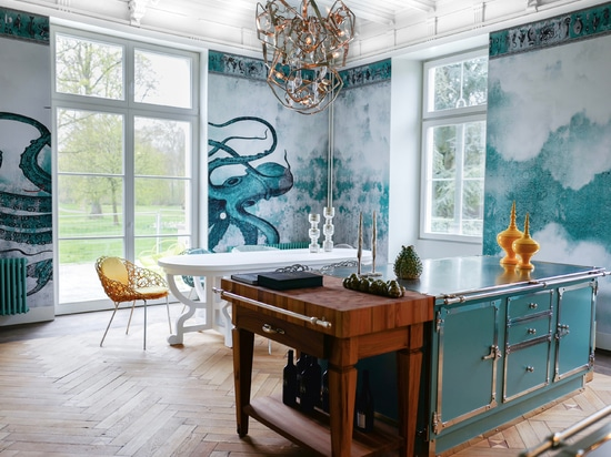 Officine Gullo presents the new Pastel Turquoise and Satin Nickel Project
