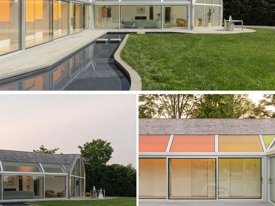 Colorful Skylights And A Curvaceous Design Are Features Of The Cocoon House
