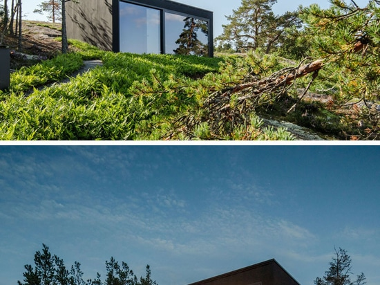 This Modern Sauna Is Positioned To Overlook Stockholm's Archipelago