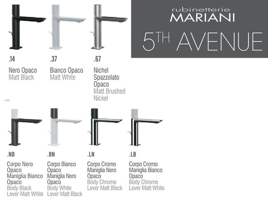 5th AVENUE faucet collection