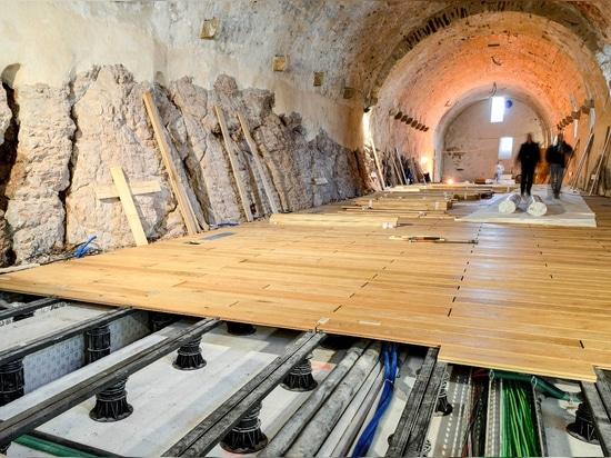 The restoration of Castel Thun in Trentino