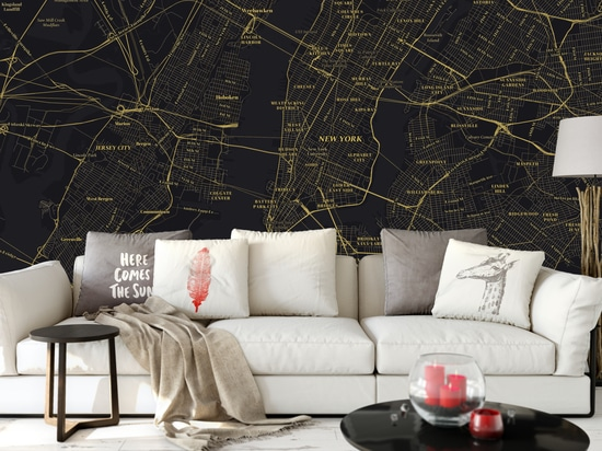 The Great Gatsby map style - NYC