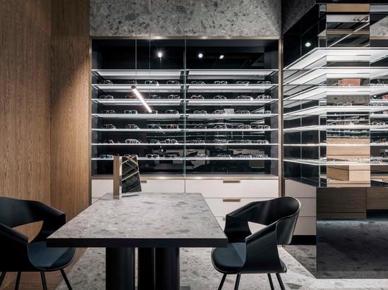 Inalco in SPEX eyewear showroom
