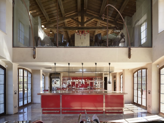 Officine Gullo presents the new Ruby Red & Brushed Nickel Project