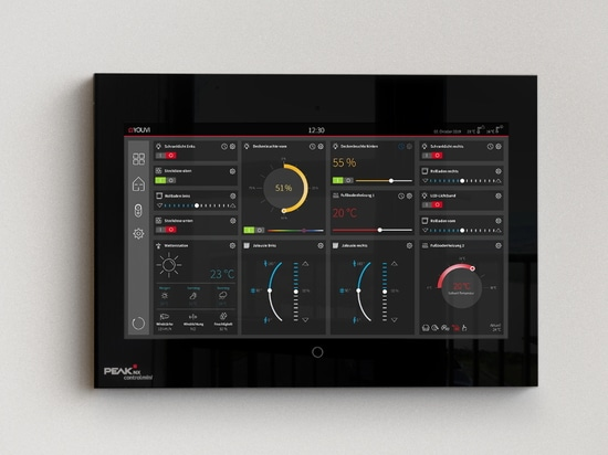 KNX Visualization YOUVI gets new functions