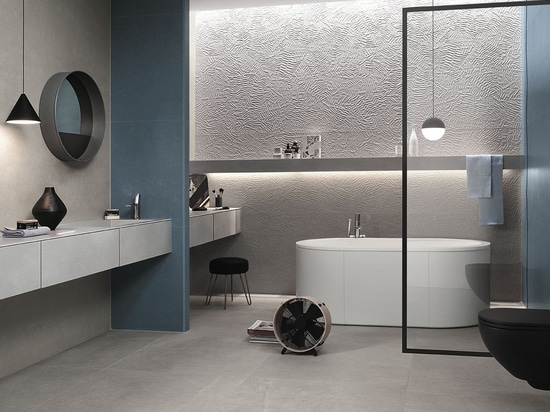 Bloom: the largest white-body wall tile is by FAP ceramiche.