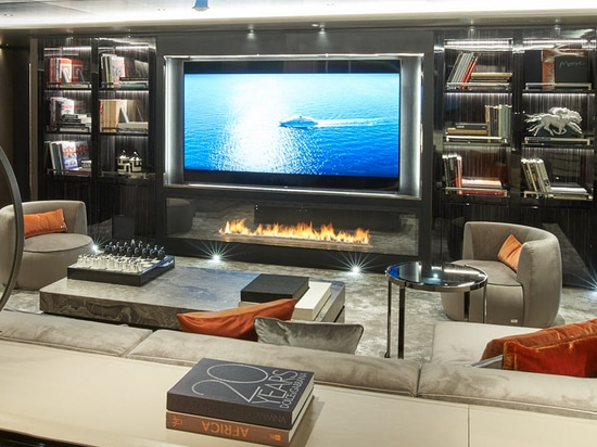 Fireplace on Water