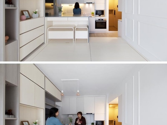 A Small Apartment In Hong Kong Makes Smart Use Of Its 492 Square Feet