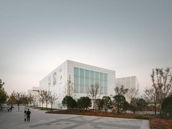 david chipperfield-designed west bund museum opens in shanghai