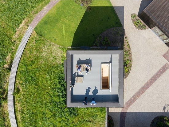 mecanoo references the layout of dutch farmhouses for 'villa vught' in the netherlands