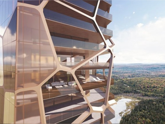 MU architecture combats urban sprawl with PEKULIARI residential tower in quebec