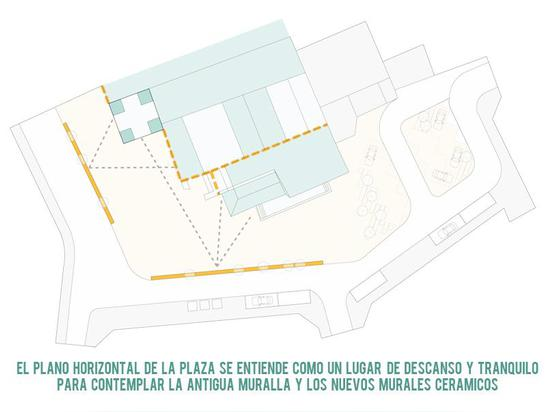 PLAZA SAN MIGUEL. URBAN SPACE REHABILITATION