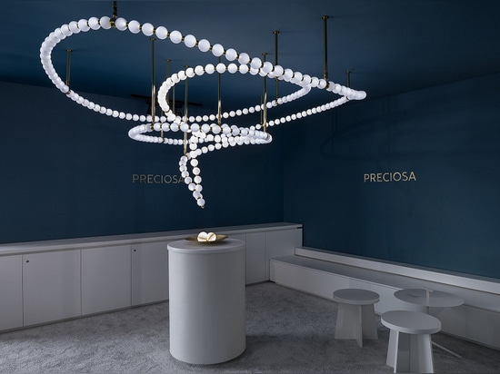 Interview. Preciosa Lighting on Its Luxurious Pearls