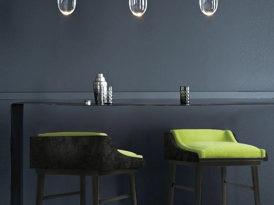Moldavite Bar Chair