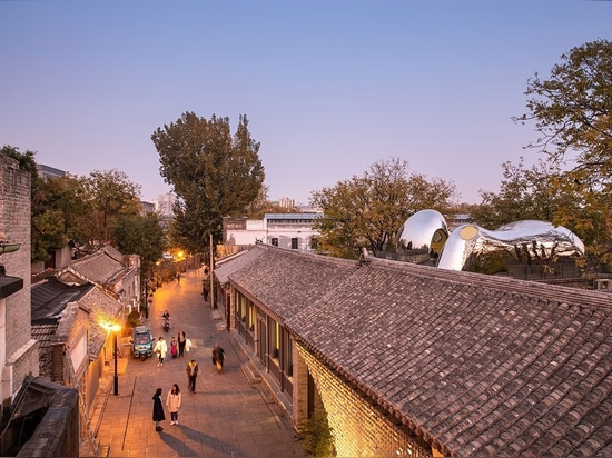 MAD Architects Revitalize Beijing's Historic Building Fabric with Futuristic Elan