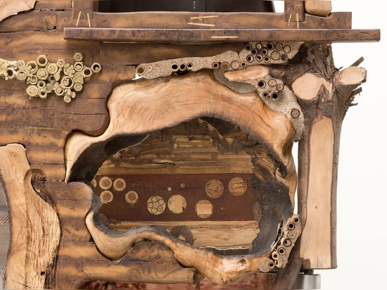 Kostas Lambridis, Elemental Cabinet (detail). Photo courtesy Carpenters Workshop Gallery.