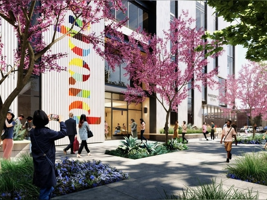Produce L.A. will feature landscaping along Santa Fe Avenue and over 15,000 square feet of public space on its ground floor.