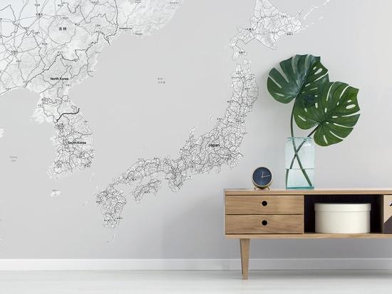 Japan Map Minimalist