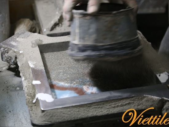 Process of Handmade Cement Tile