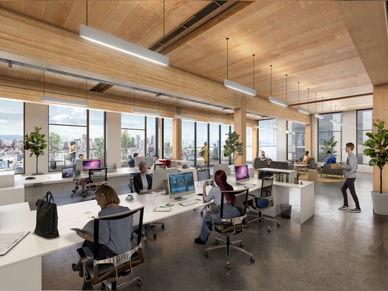 Tenants will have views of the surrounding pier, downtown San Francisco, and the Bay. (Courtesy Brookfield Properties and Design Distill)