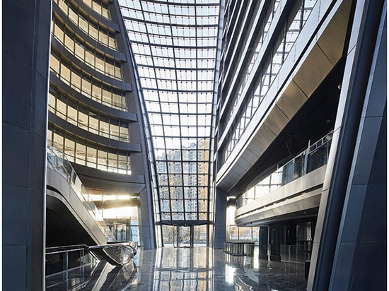 Leeza SOHO Tower by Zaha Hadid Architects