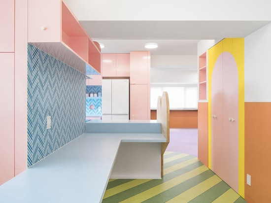Adam Nathaniel Furman Creates Toy-Like Apartment Interior From A Palette Of Pastel Colours In Tokyo