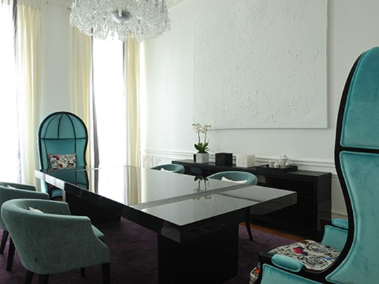 Art Chic Apartment in Paris designed by PFB Design and Furnished by BRABBU
