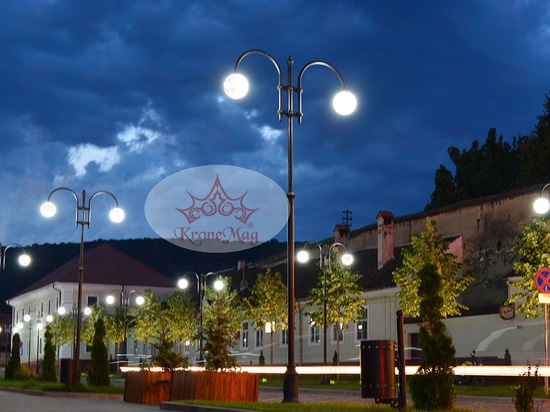 Ornamental Street Lighting Poles