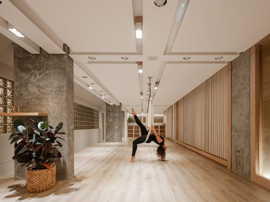 Minimal And Rich Color Palette Embrace Diversity In This Interior For A Yoga Studio In Kuwait