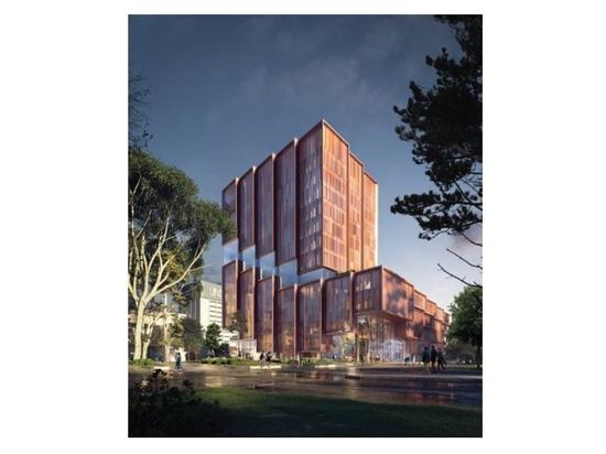3XN, Aspect design new 'heart' of UNSW's Kensington campus