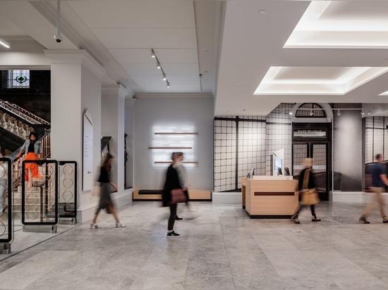 Swanston Street Foyer by Architectus and Schmidt Hammer Lassen.