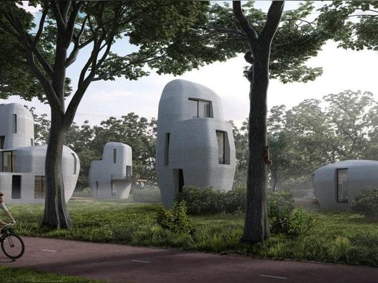 3D-printed housing development, Project Milestone.