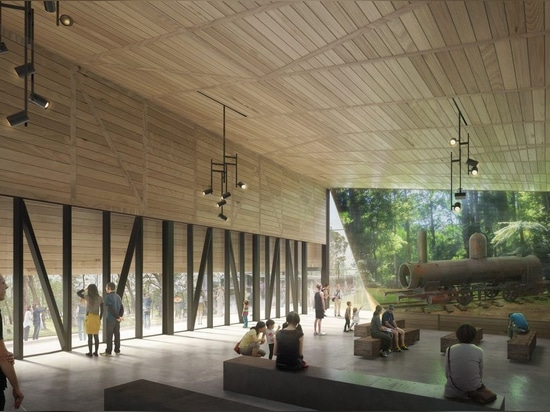 The Lakeside Discovery Centre by Terroir