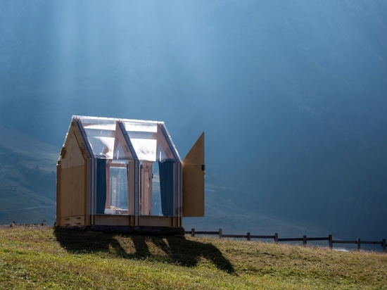 Immerso Glamping sits lightly on the land.