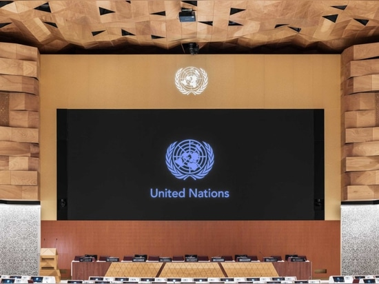 WOOD-SKIN is the design and technical partner for the renovation of the United Nations Room XIX in Geneva, commissioned to the architectural firm PEIA Associati, through a generous donation from th...