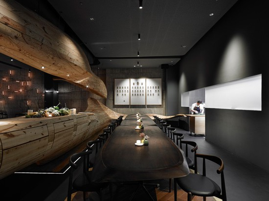 This Restaurant Is Filled With Organically Sculptured Wooden Structures