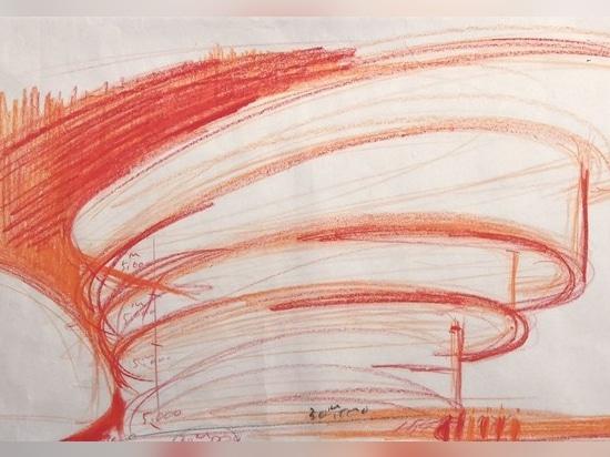 Tadao Ando sketch