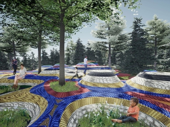 """""""Augmented Grounds"""" by Soomeen Hahm, Architect; Jaeheon Jung, Architect; and Yumi Lee, Landscape Architect 